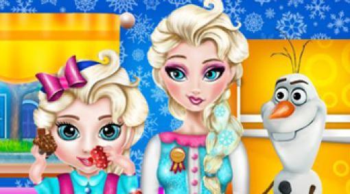 Elsa Baby Spiele