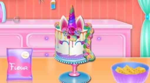 unicorn cake cooking  kostenlos spielen auf topspielede