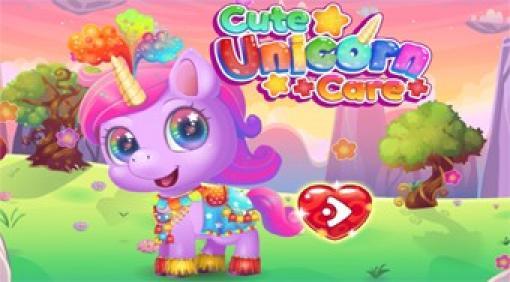 cute unicorn care  kostenlos spielen auf topspielede